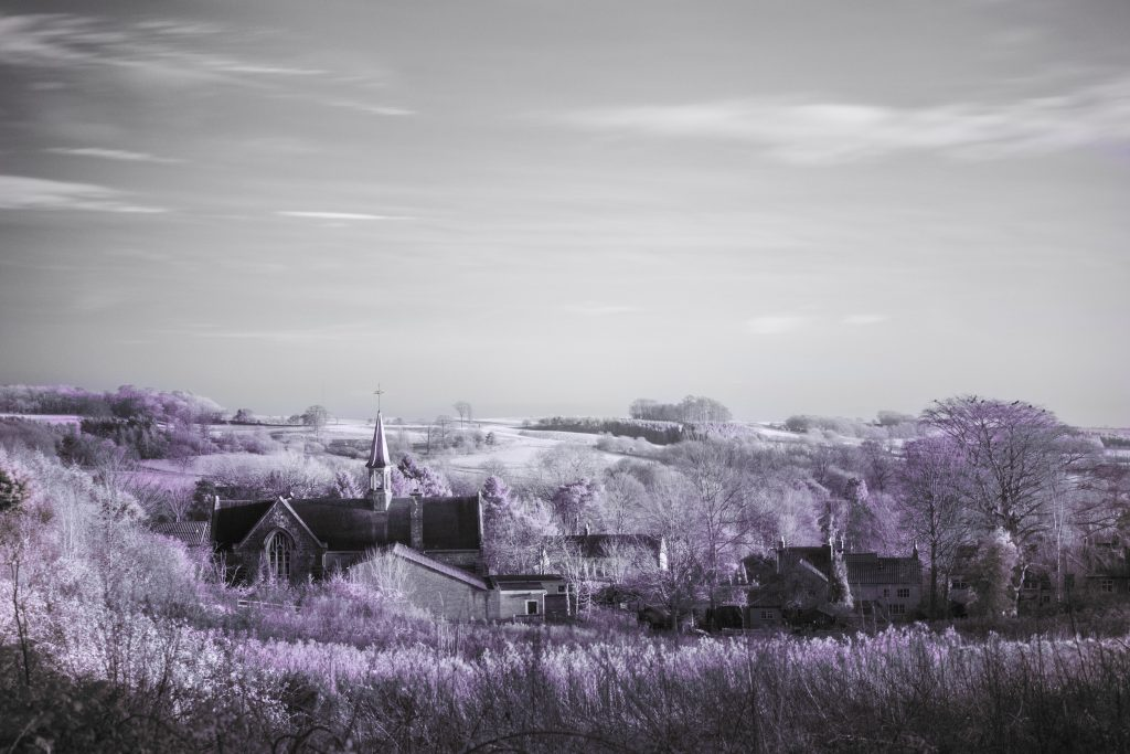 Infrared Tealby Lincolnshire
