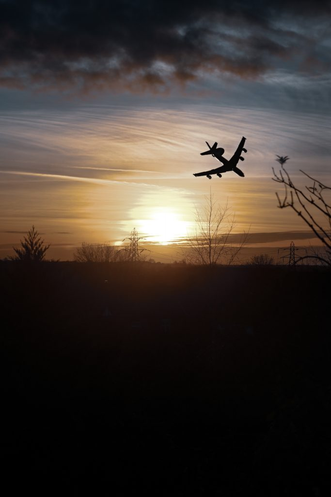 Just A Plane Sunset / Canon 6d