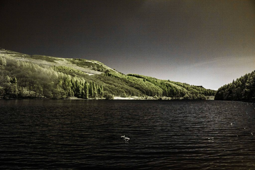 Infrared In The Peak District