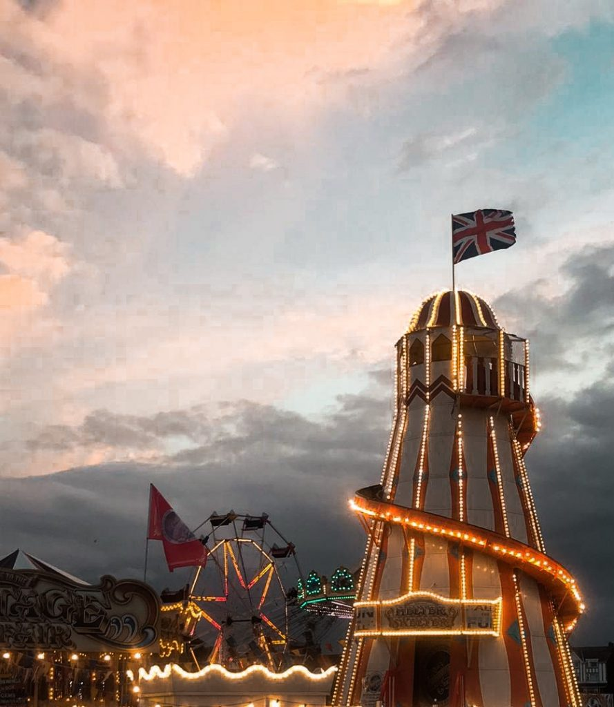 Skegness at Dusk – iPhone Photography
